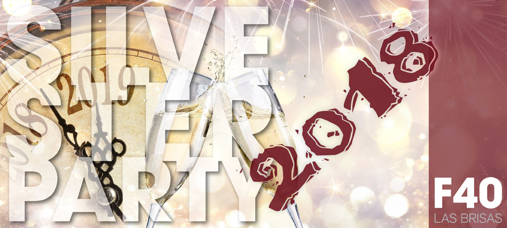 Silvester-Party im F40 Las Brisas
